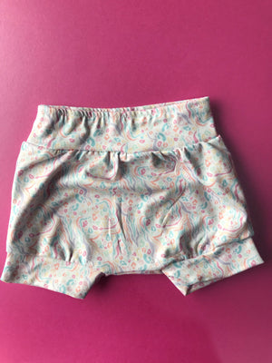 Pastel Animal Print Shorts - Roopers Rompers