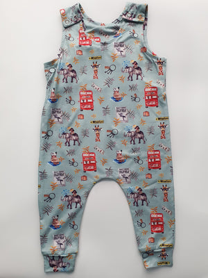 Zoo Break Handmade Romper-Roopers Rompers
