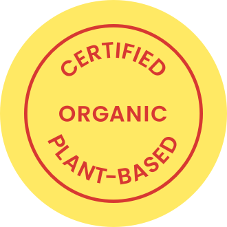 Certified organic plant based