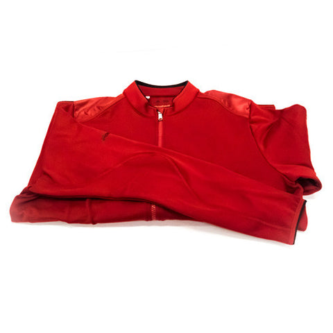Adidas Climaheat Red Full Zip Sweatshirt (Mens)