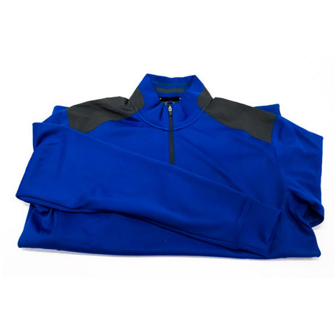 Nike Quarter Zip Golf Jacket (Men) - Blue