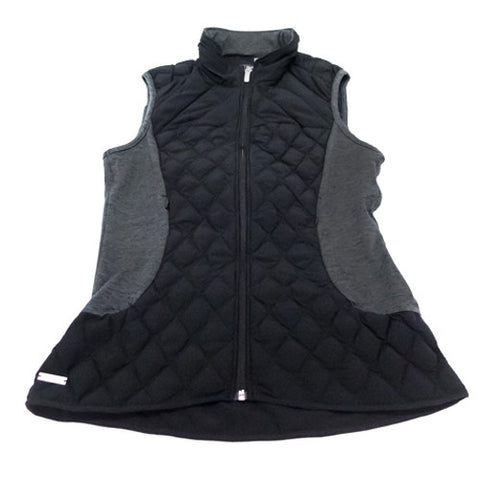 Adidas Climawarm Vest - Black & Dark Grey (Womens)
