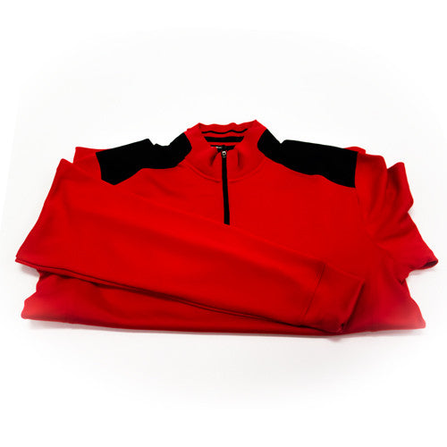 Nike Quarter Zip Golf Jacket (Men) - Red
