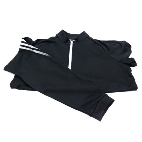 Adidas Quarter Zip - Black pullover (Mens)