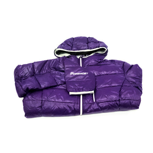 Second Skin downjacket - Purple (womens)
