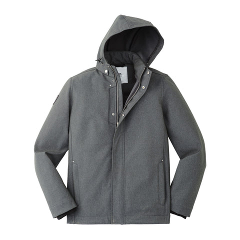 Roots Elkpoint Softshell Men Grey