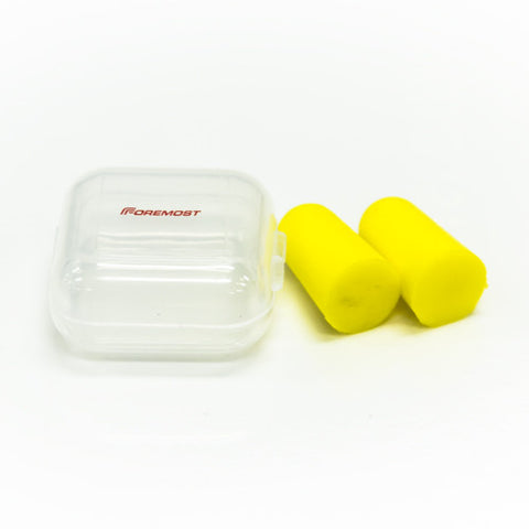 Earplugs with Plastic Case