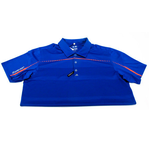 Puremotion Embossed Polo Vivid Blue