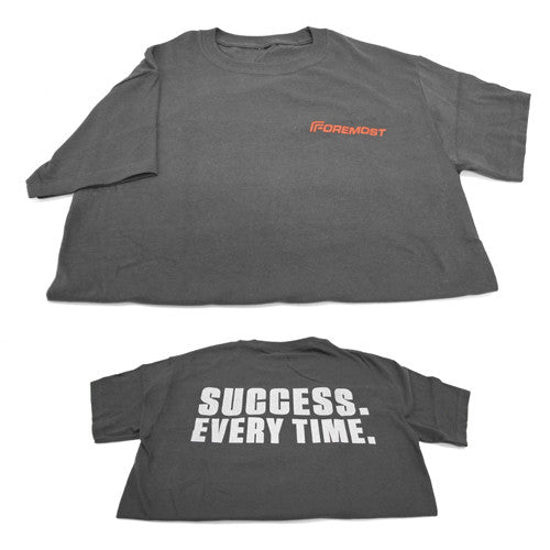 "Unisex T-Shirt - Dark Grey ""Success Every Time"""