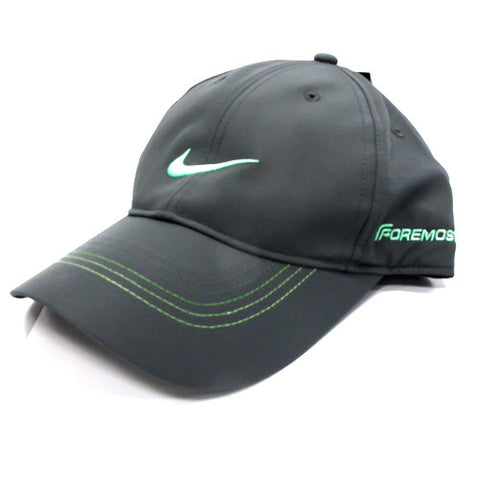Nike Contrast Stitch Grey/Green Hat