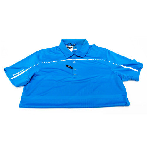 Puremotion Embossed Polo Solar Blue