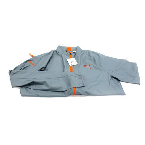 Puma MS Full Zip Wind Jacket - Grey