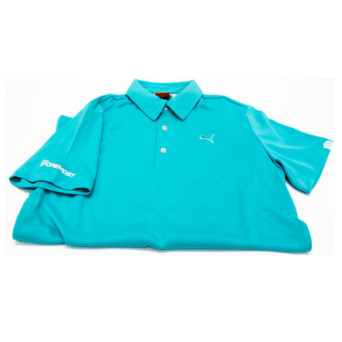 Puma Golf Tech Polo Pool Green 565481