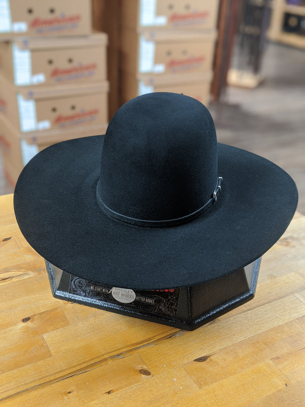 Rodeo King | Black 7X Felt Cowboy Hat