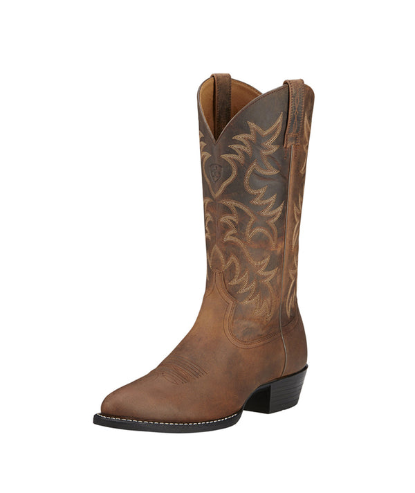 Ariat | Brown Heritage Western R Toe Boot