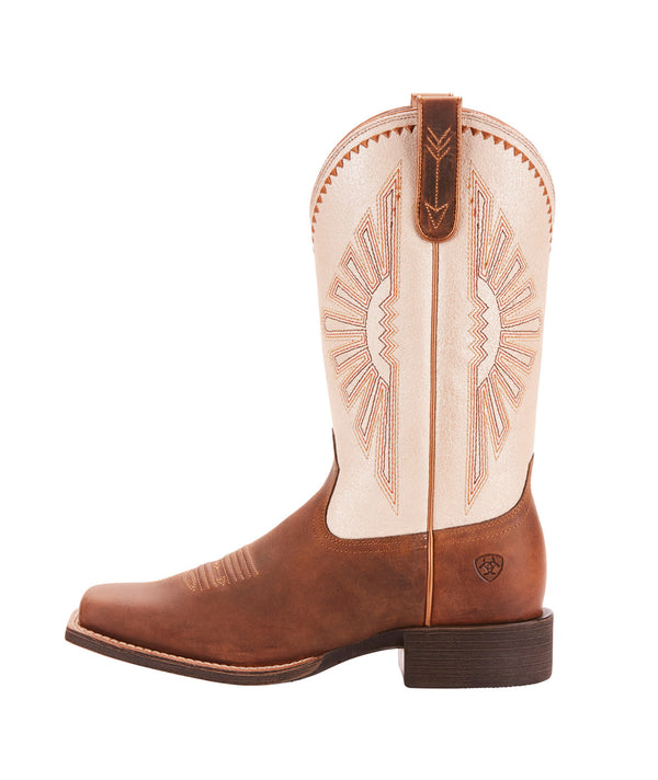 Ariat | Distressed Brown Round Up Rio Ladies Boot