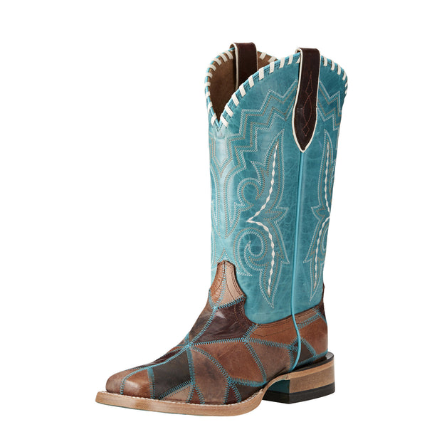 Ariat | Tan Reese Patchwork Ladies Boot
