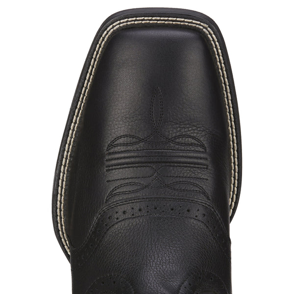 Ariat | Black Sport Western Wide Square Toe Boot