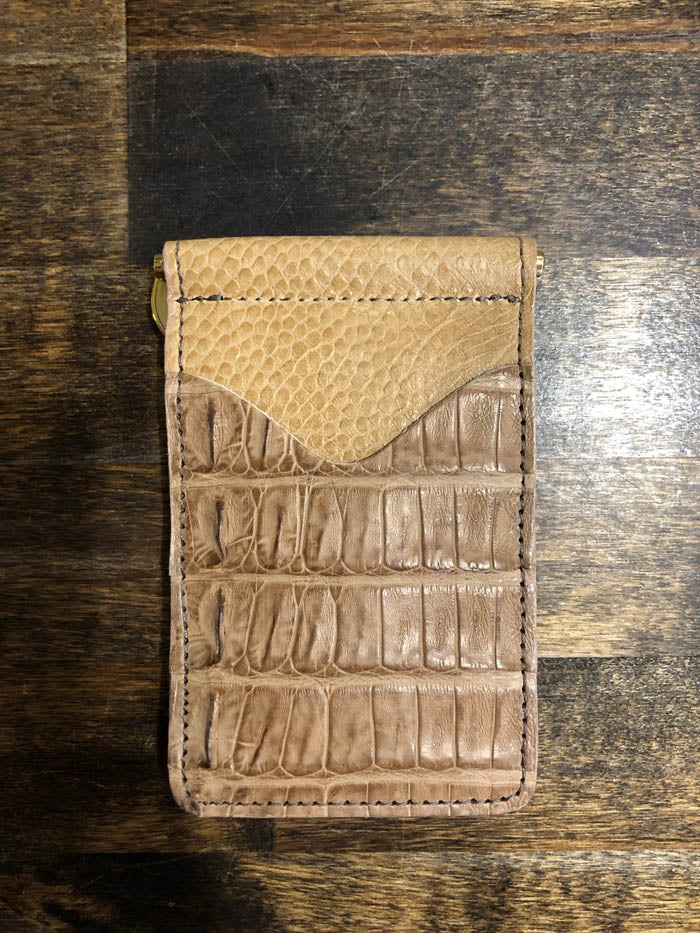 AB/Rios | Caiman Money Clip Wallet