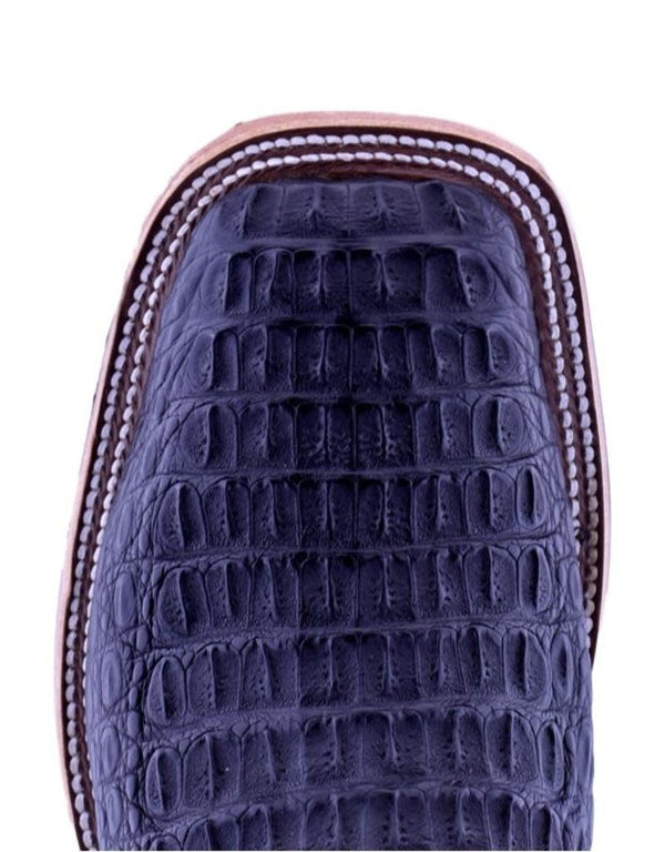 Anderson Bean | Black Lux Hornback Caiman Boot