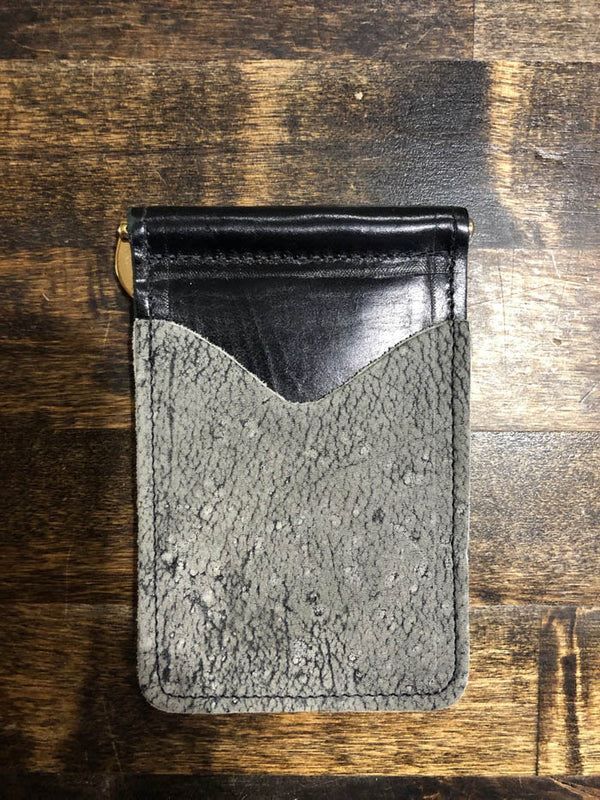 AB/Rios | Giraffe Money Clip Wallet Granite Safari