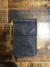 AB/Rios | Shoulder Money Clip Wallet Black