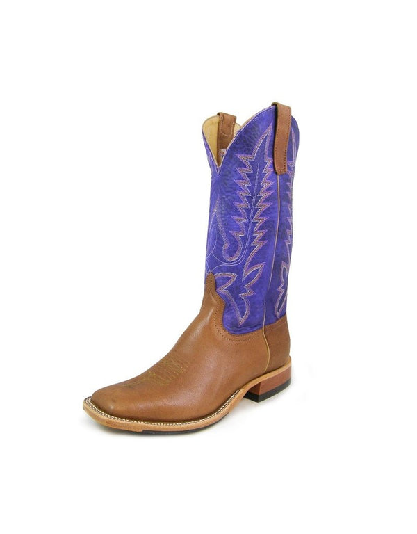 Anderson Bean | Camel/Purple Bison Boot