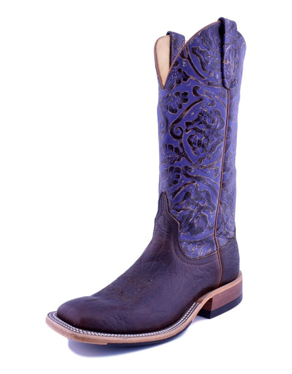Anderson Bean | Rootbeer Yeti/Grape Antique Tool Ladies Boot