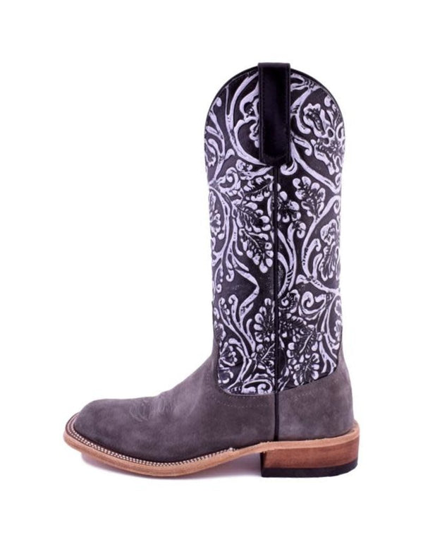 Anderson Bean | Smoked Bacon/White Wash Toolbox Ladies Boot