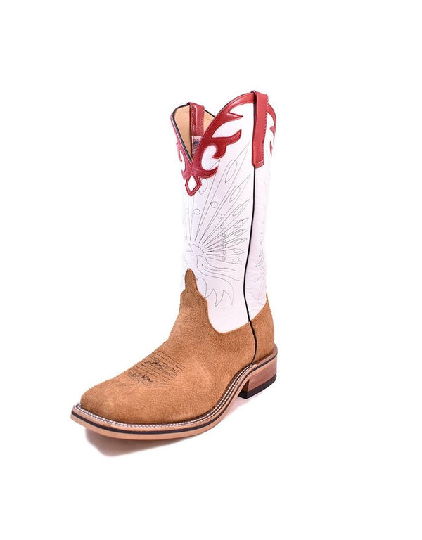 Anderson Bean | Tan Ryan Roughout Ladies Boot