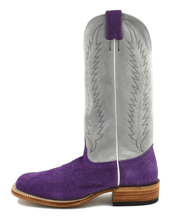 Fenoglio Boot Co. | Purple Roughout Ladies Boot