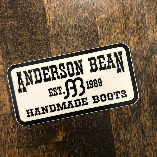 Anderson Bean | Rectangle Logo Sticker