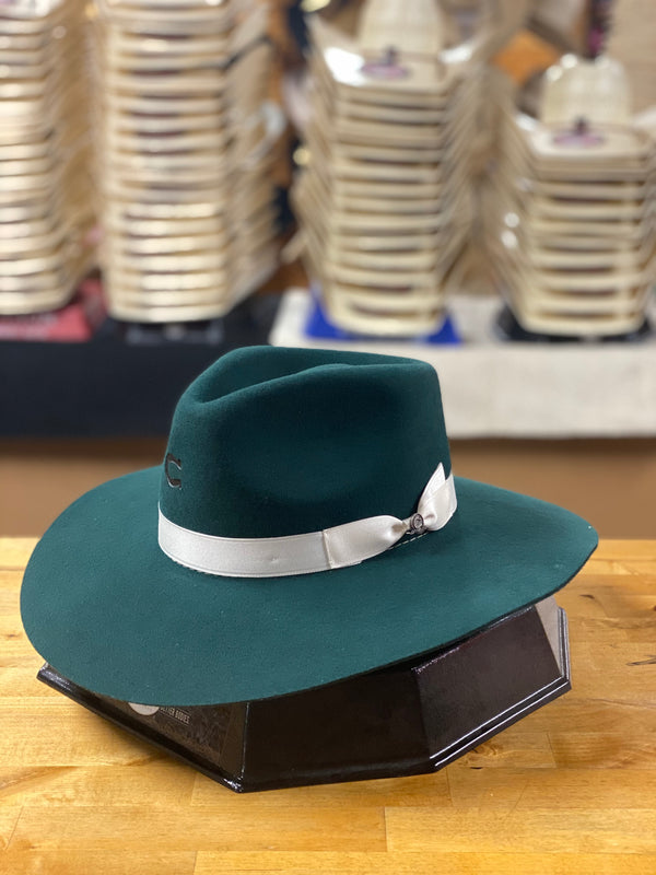 Charlie 1 Horse | Green Highway Hat