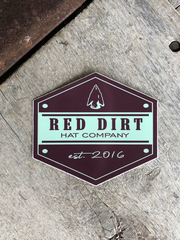 Red Dirt | Arrowhead Sticker