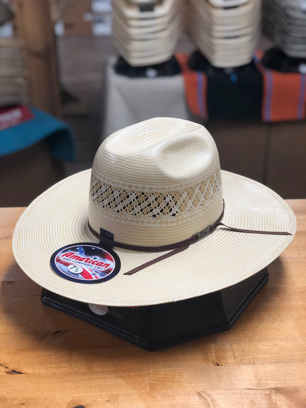 American Hat Co. | 1022 4 1/4'' Straw Cowboy Hat