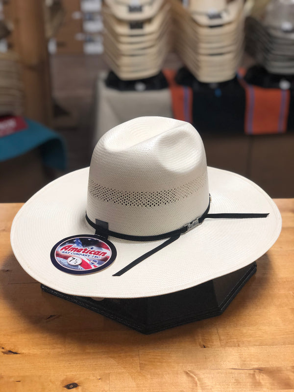 American Hat Co. | 7104 Straw Cowboy Hat