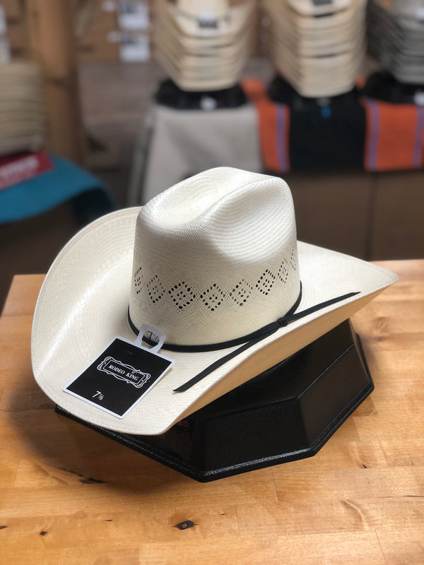 Rodeo King | 24K Straw Cowboy Hat