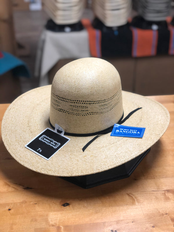 "Rodeo King | Open 5"" HD Bangora Cowboy Hat"