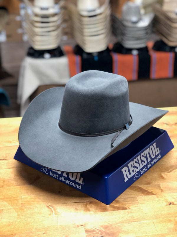 Resistol 3X Cody Johnson 9th Round Granite Cowboy Hat