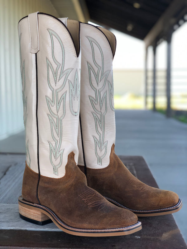 Olathe Boot Co. | Wheatbuck Waxy Kudu Tall Top Boot