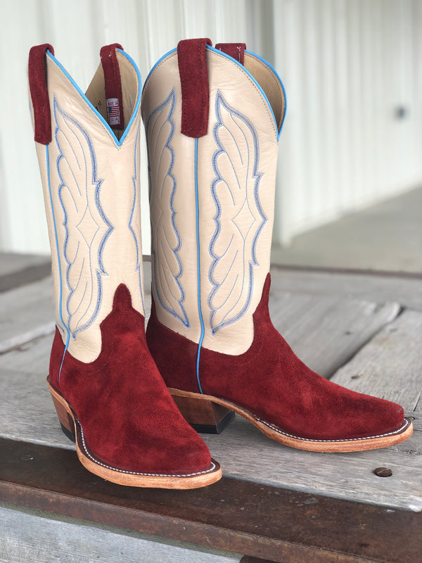 Anderson Bean | Red Hot Waxy Kudu Ladies Boot