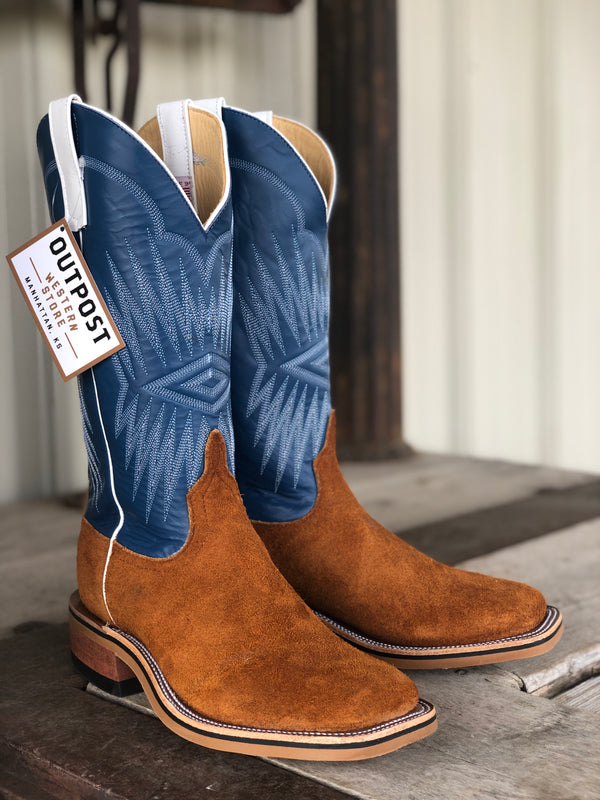 Anderson Bean | Rust Ryan Roughout Boot