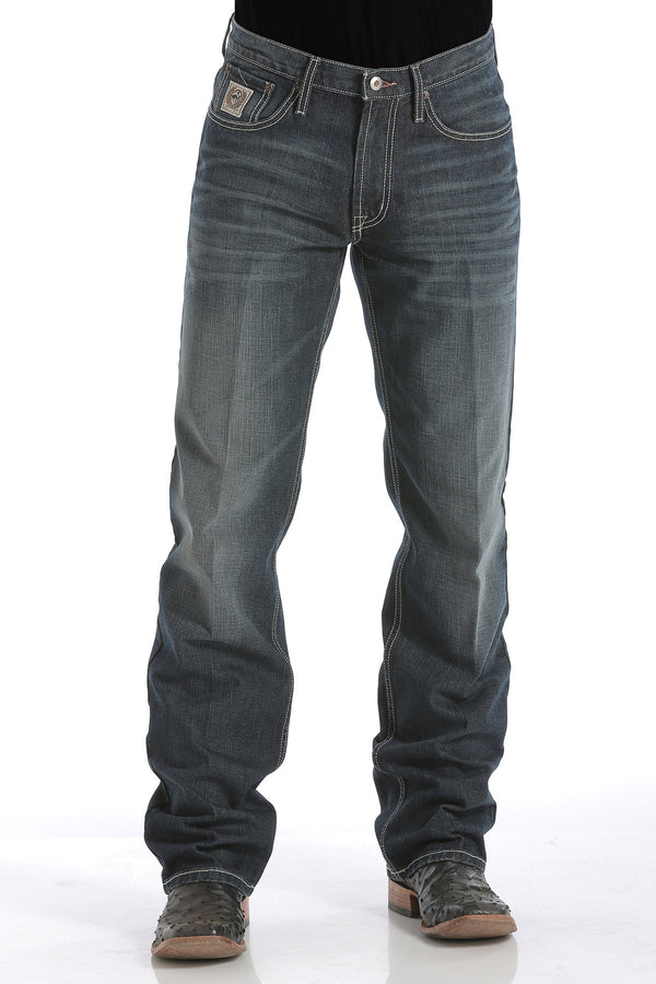 Cinch | White Label Relax Fit Dark Stonewash Jean