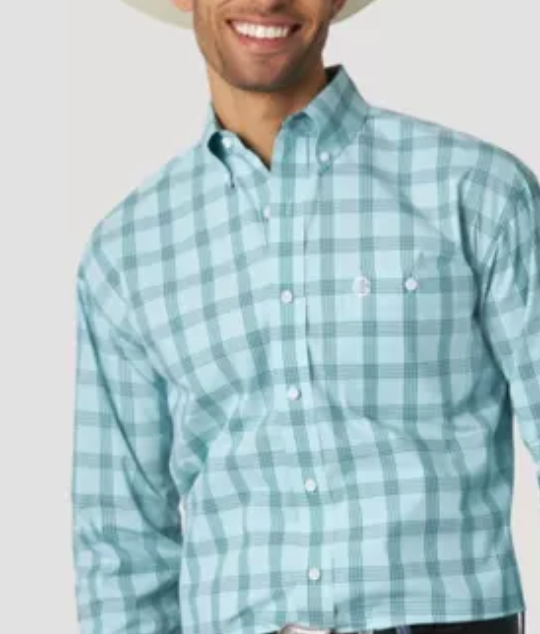 Wrangler | George Strait Plaid LS Shirt