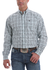 Cinch | Plaid Long Sleeve Button Down Shirt