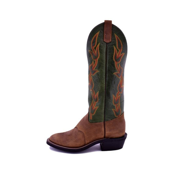 Olathe Boot Co. | Brown Oiled Pig DayHand Boot