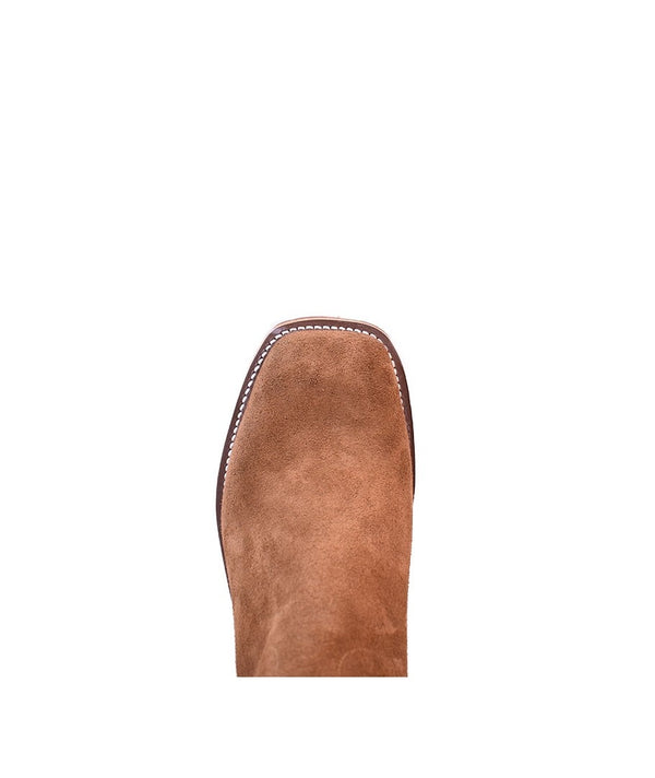 Olathe Boot Co. | Ryan Rust Roughout Boot