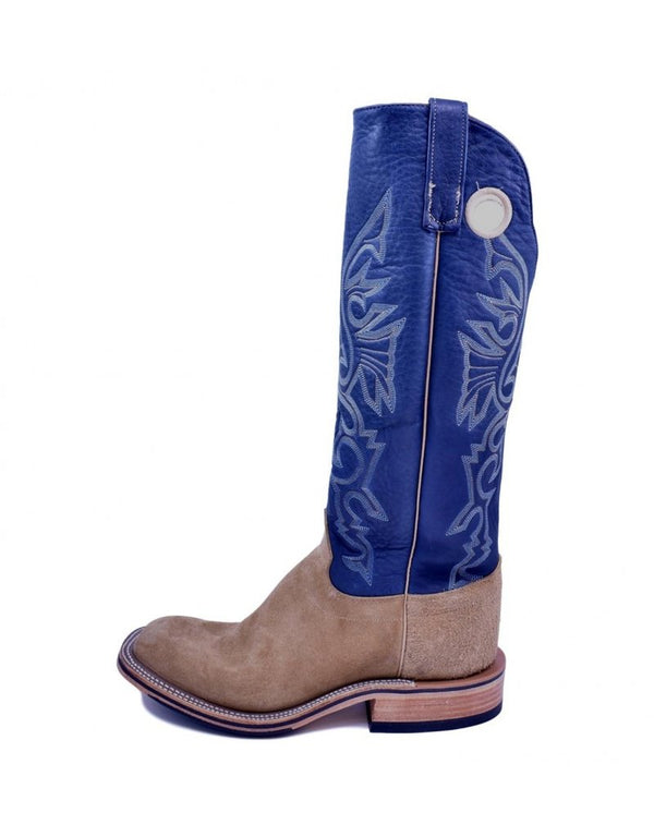 Olathe Boot Co. | Tan Ryan Roughout Tall Top Ladies Boot