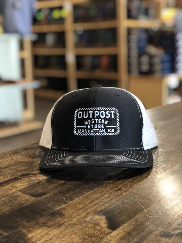 Outpost Richardson 112 Cap Black/White OS