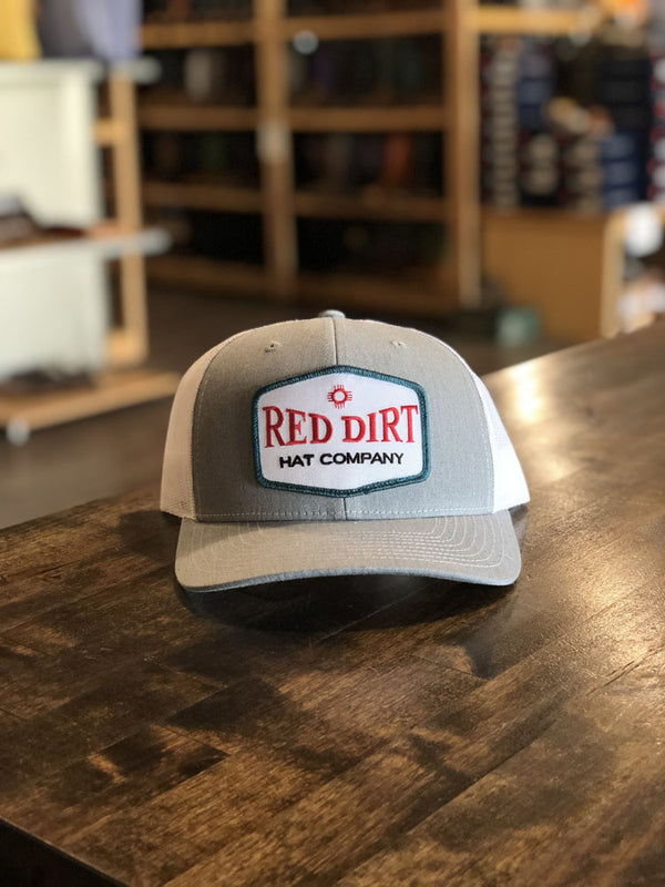 Red Dirt Hat Co. Allsups Heather Cap Grey/White OS